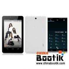 """7 Inch Dual Core #3G #Android #Tablet """"Justice"""" - #Dual SIM, 1024x600 #phone #electronic #gadgets #shopping #chinabootik"""