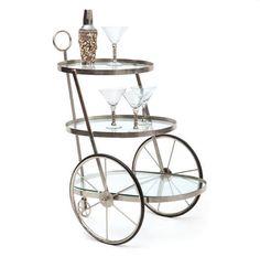 Go Home Miami Bar-Tea Cart