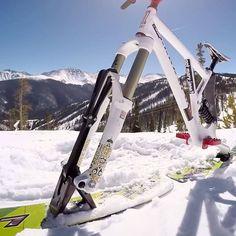 ❝ Lenz Sport Ski-Bike, bicicletas para la nieve [VÍDEO] ❞ ↪ Puedes verlo en: www.proZesa.com