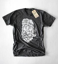 Little Mountain Supply Co — #NoShaveNovember Bearded Captain (Asphalt). Get your own shirt at http://www.littlemountainsupplyco.com/