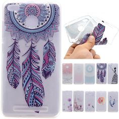 0641ce0f47 Luxury Cute Catoon Butterfly Girl Tower Bicycle TPU Soft Fundas Case For  Xiaomi RedMi 3s /