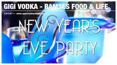 GiGi Vodka & Ramses. New year´s Eve party.  Más info en: agenciadowntown.com hola@agenciadowntown.com