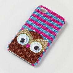 Animal-lover accessory must-have: Googly Eye Owl iPhone Cover