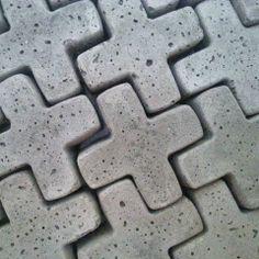 Beton plusjes | Concrete crosses
