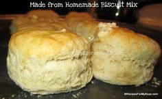 Homemade Biscuit Mix RecipesForMyBoys.com