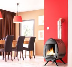 Cool Wood Stoves - wood burning cast iron stoves by Invicta