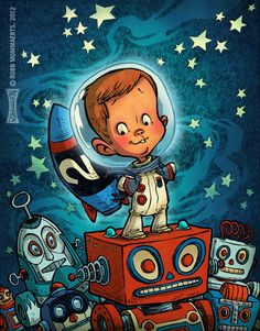 Space Toddler by ~RobbVision on deviantART