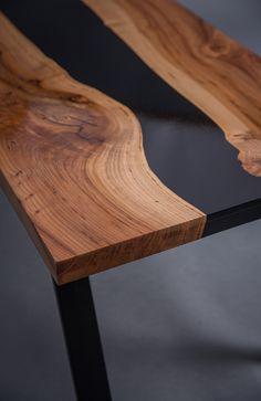 Resin River Table En 2018 Wood Pinterest Table