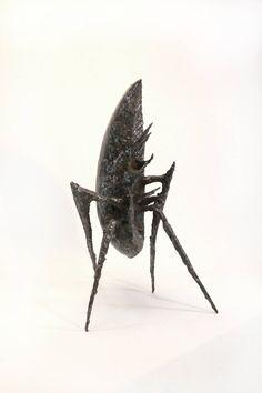 Impressive Brutalist Sculpture by the French Sculptor Michel Anasse, 1971-1973  www.1stdibs.com
