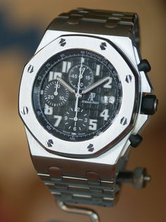 My everyday watch. Audemars Piguet Royal Oak Offshore Chronograph Black Dial.