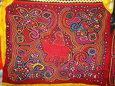 Molas - a traditional Kuna craft