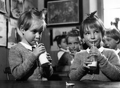Last straw: free school milk is a touchy subject today, but in 1953 it was essential