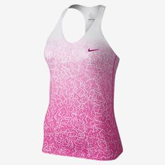 LOVE this pink NIKE Tennis advantage top!