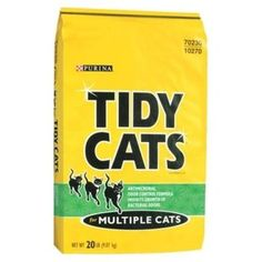 Tidy Cats Non-Clumping For Multiple Cats Breathe Easy Cat Litter 20LB (Pack of 9) >>> You can get more details by clicking on the image. (This is an affiliate link) #CatLovers