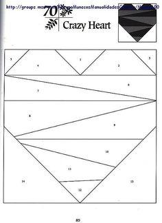 Шаблоны для пэчворка 101 Foundation-Pieced Quilt Blocks 085