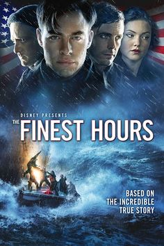 """A must watch! Disney's The Finest Hours. Based on the Extraordinary True Story of One of the Greatest Rescue Stories Ever Told. Digital release of The Finest Hours on Blu-ray™, Digital HD, & Disney Movies on May 24th. It includes Bonus Documentary """"Against All Odds: The Bernie Webber Story""""  #TheFinestHours #ad"""