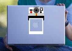 Retro Polaroid Camera Macbook Decal / Laptop Decal by DaisyDecals, $8.99