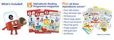 Alphablocks Pack Contents