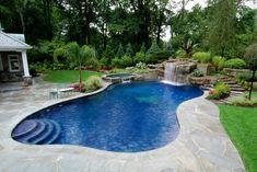 pool landscape design
