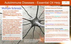 Multiple Sclerosis is a very dibilitating disease. Here is a way that essential oils can help with this disease. Check us out at Facebook.com/EssentialOilsforGoodHealth or Twitter at Twitter.com/EOs4GoodHealth for much more information about how essential oils can help you.