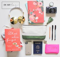 what's in her bag...what to pack in your travel bag! #carry-on #packing #travel #airplane