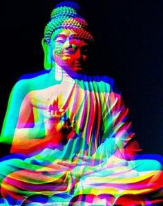== psychedelic buddha ==