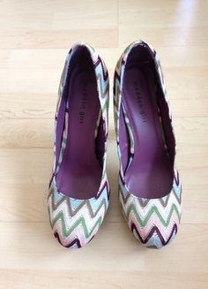 23c52728a35cc4 Steve Madden Girl Pumps Missoni Style Gr 41