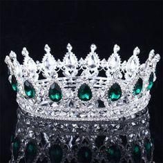 Bling Bridal Peacock Crystal Tiara Wedding Crown 8138968ba638