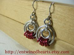 Fateful Serenity Earrings by EntwinedHearts on Etsy