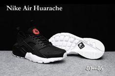 a8e39e2a7726e6 New Arrival Men s Nike Air Huarache Run Ultra PK4 KPU Casual Sports Shoes  Black   White