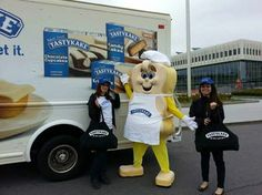 Tastykake here, delivering your daily dose of freshness!