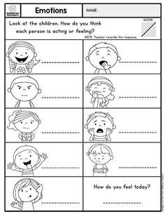 pin von mylemarks auf art: worksheets | emotionen vorschule, arbeitsblatt für kinder im