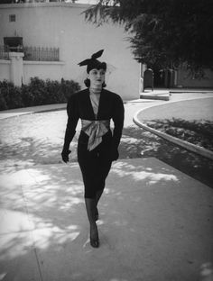 Contract player on the Universal Studios lot, 1937.