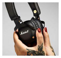 Marshall Mid Bluetooth - Thomann www.thomann.de #headphones #marshall #style #lifestyle #black
