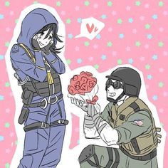 I ship it. Deal with it. Rainbow Six Siege Art, Rainbow 6 Seige, Tom Clancy's Rainbow Six, Mein Hobby, Video Game Memes, Xbox Games, Gaming Memes, Cool Artwork, My Drawings