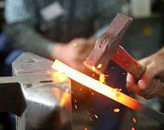 steel forgings - hammering away Forging Hammer, Welding Art, Blacksmithing, Tractors, Conference, Drill, Steel, Man Stuff, Airplanes