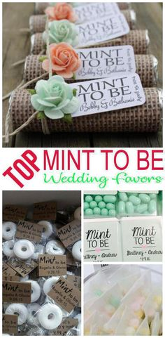 Wedding Favors! Mint To Be wedding favor ideas that your guests will love! Find ideas from DIY, cheap, creative, unique, inexpensive, elegant, classy, useful and more. Pick a wedding shower favor idea for guests that they will be happy to take home. Amazing favor ideas for any theme wedding you want to give your guests Mint To Be favors to take home. Find the best Mint To Be wedding favor ideas now!