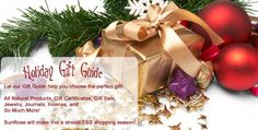 Holiday Gift Ideas ~ all natural !