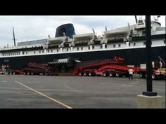 Huge Oversize Preparing To Board The S.S. Badger (Part 1 of 2) - YouTube