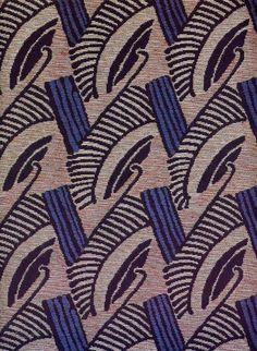 Art Deco textile.