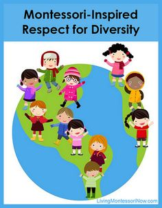 I love Montessori Education ! Montessori-Inspired Respect for Diversity (includes links to Montessori peace education activities) Montessori Education, Montessori Materials, Montessori Activities, Educational Activities, Maria Montessori, Preschool Themes, Multicultural Classroom, Multicultural Activities, Cultural Studies