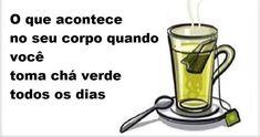 Isto É O Que Acontece No Seu Corpo Quando Você Toma Chá Verde Todos Os Dias! - Leia e Descubra!