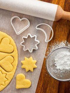Recette simple et délicieuse de petits sablés à la vanille - Recette de cuisine Marmiton : une recette