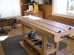Vice mount and bench dogs... - Woodworking Talk - Woodworkers Forum