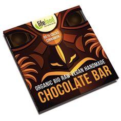 Ciocolata certificata bio, fara lactoza. Descopera in magazinul nostru o gama variata de alimente si cosmetice bio. Raw Bars, Handmade Chocolates, Raw Food Recipes, Gluten