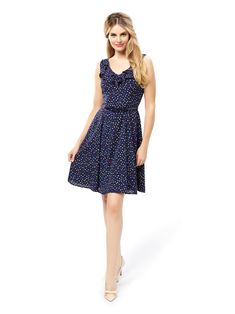 Margo Spot Dress | Review Australia Fit N Flare Dress, Fit And Flare, Holiday Wardrobe, Vintage Inspired Dresses, Review Fashion, Online Dress Shopping, Occasion Wear, Everyday Fashion, Dresses Online