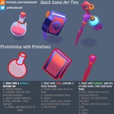 Quick Game Art Tip - Prototyping with Primitives | Minions Art on Patreon