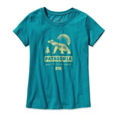 Another graphic t-shirt from Patagonia that I love! Because girls can love the outdoors just as much as boys (despite that theme usually showing up only in the boys department). Sizes 3-18.