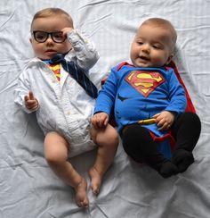 Clark Kent and Superman