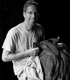 """Please meet the extremely nice Tim Evans. Yesterday he walked into the Homeless In Seattle office with (3) backpacks and a bundle of socks to donate, wowWOW!  A heartfelt community size hug to you Tim. Thanks for the donations and for the positive experiences you shared about """"Just Say Hello"""" to those living on our streets.   Fremont 8/30/2013 Just Say Hello, Hug, Evans, Seattle, Socks, Meet, Positivity, Community, Backpacks"""